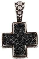 John Hardy Sapphire Cross Pendant