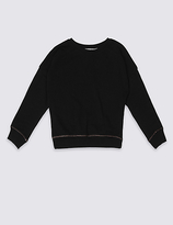 Marks and Spencer Long Sleeve Sweatshirt (3-14 Years)