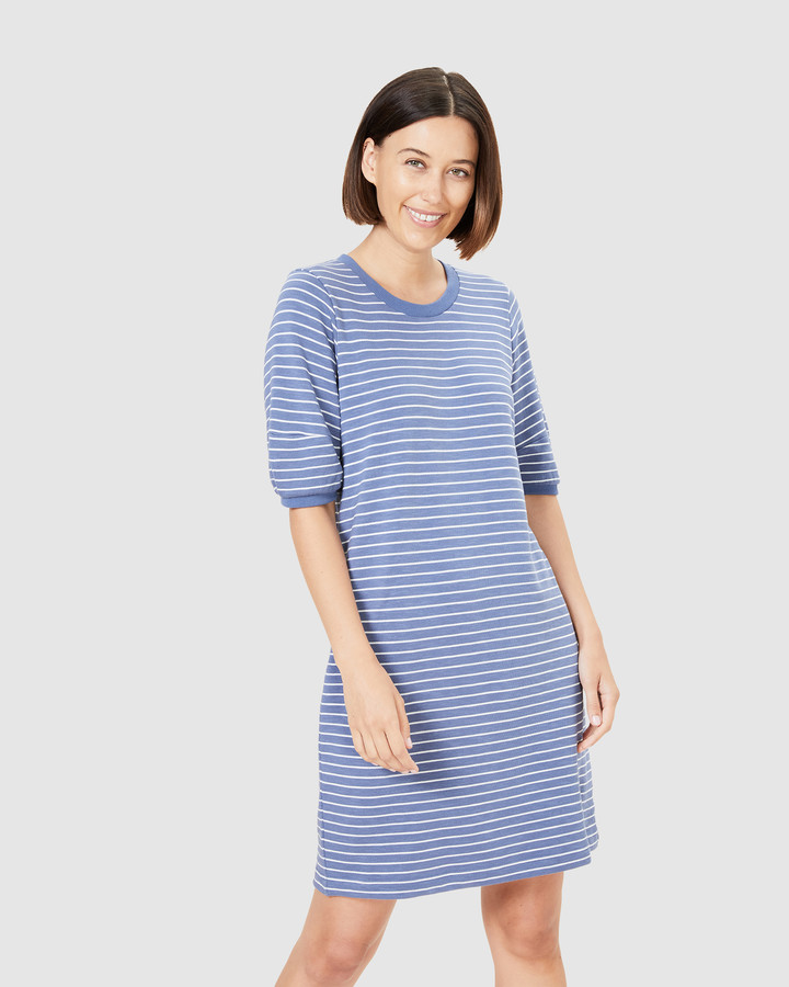French Connection Women's Dresses - Puff Sleeve Sweat Dress - Size One Size, XL at The Iconic