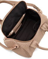 Alexander Wang Rockie Small Crossbody Satchel, Beige