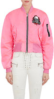Ben Taverniti Unravel Project Women's Skull-Graphic Mini-Bomber Jacket