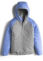 The North Face Girl's 'Perseus' Water Repellent Heatseeker(TM) Insulated Hooded Reversible Jacket