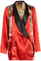 Etro Printed Blazer with Silk