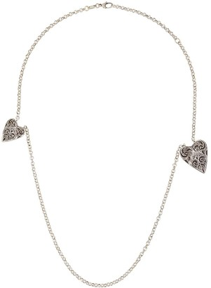Gucci Heart Charm Necklace