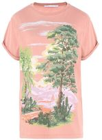 Stella McCartney pink landscape t-shirt