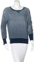 Current/Elliott Ombré Striped Sweatshirt