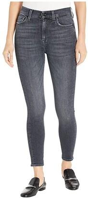 7 For All Mankind High-Waist Ankle Skinny in Honest (Honest) Women's Jeans