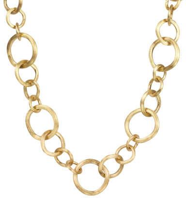 """Marco Bicego Jaipur 18k Gold Link Necklace, 19""""L"""