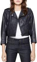 Zadig & Voltaire Liyo Leather Jacket