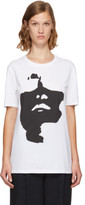 Neil Barrett White Oversized Siouxsie T-shirt