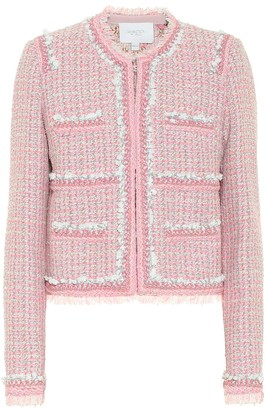 Giambattista Valli Wool-blend tweed jacket