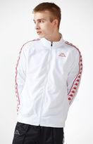 Kappa Banda Astoria White & Red Track Jacket