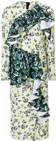 Marni stocking stitched floral dress