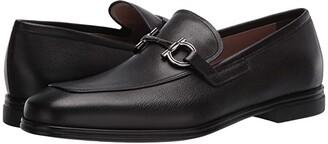Salvatore Ferragamo Scarlet Loafer (Black) Men's Shoes