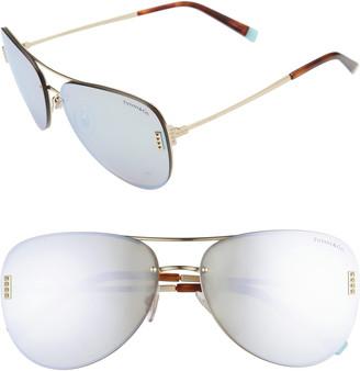 Tiffany & Co. 62mm Aviator Sunglasses