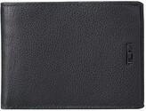 Tumi Nassau Double Billfold (Black Textured) Wallet