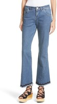 See by Chloe Women's Scallop Trim Bootcut Jeans