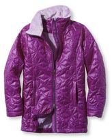 L.L. Bean Girls' Puff-n-Stuff Coat