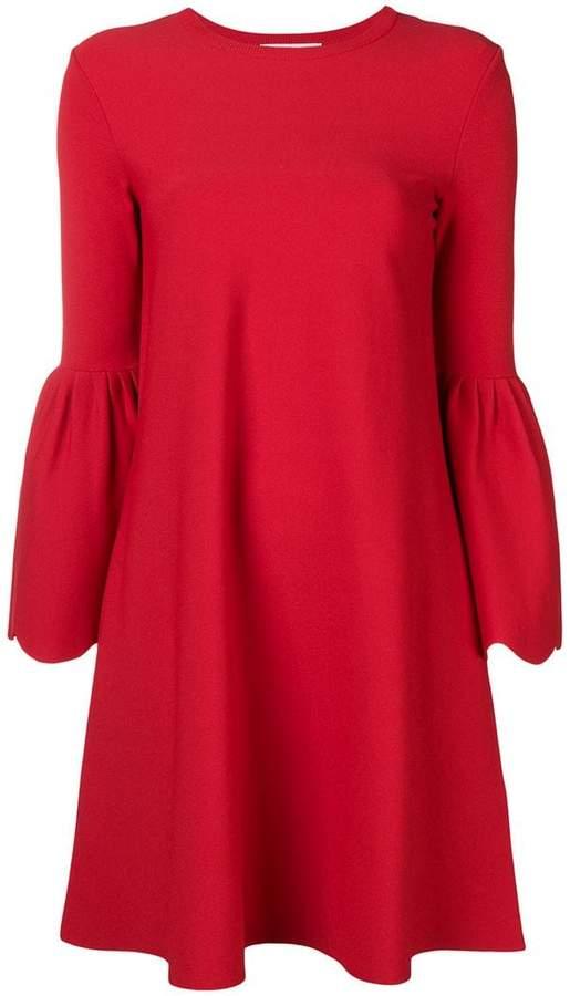Valentino bell sleeved dress