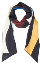 Victoria Beckham Women's Print Silk Rectangle Scarf