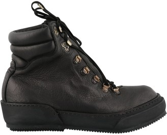Guidi Lace-Up Combat Boots