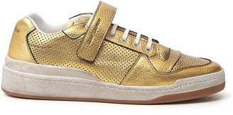 Saint Laurent SL24 Metallic Sneakers