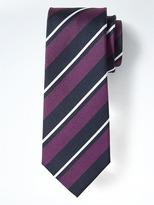 Banana Republic Classic Stripe Silk Nanotex® Tie