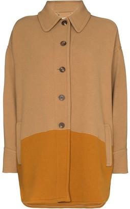 Chloé Two-Tone Coat