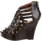 Givenchy Caged Multistrap Wedges