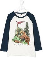 Stella McCartney Buck White Bear print T-shirt