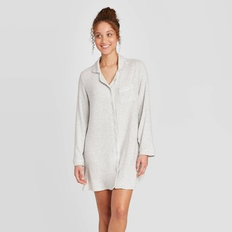 Stars Above Women' Perfectly Cozy Notch Collar Nightgown - tar AboveTM Light
