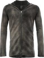 Avant Toi knitted zip hoodie