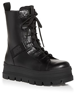 UGG Women's Sheena Platform Combat Boots