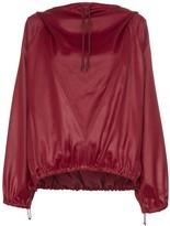 Givenchy Hi-sheen stretch hoodie