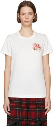 MONCLER GENIUS 4 Moncler Simone Rocha White Patch T-Shirt