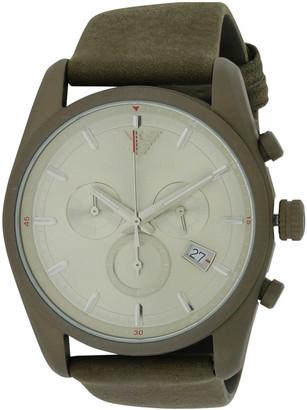 Giorgio Armani Men's Leather Watch
