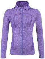 YiJee Women Running Yoga Slim Sweatshirts with Two Side Pockets Jacket L