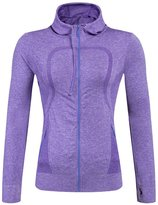 YiJee Women Running Yoga Slim Sweatshirts with Two Side Pockets Jacket M