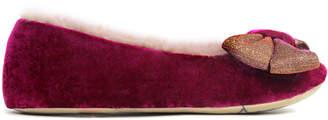 Ruby & Ed Shimmer Bow Ballerina