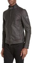 Belstaff Men's 'Racer Jersey' Cotton Moto Jacket