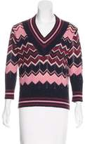 Chris Benz Wool Patterned Sweater