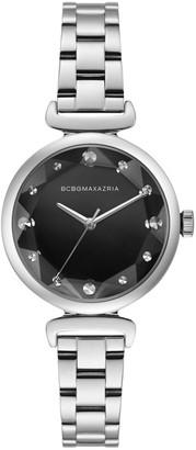 BCBGMAXAZRIA Classic Stainless Steel Bracelet Watch