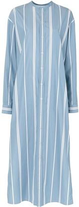 Jil Sander Striped Buttoned Dress