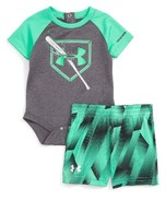 Under Armour Infant Boy's Breaking Bat Bodysuit & Shorts Set