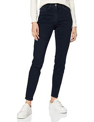 Gerry Weber Women's 92617-67920 Straight Jeans,(Herstellergröße: S/M)
