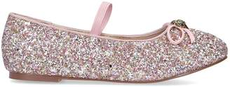 Kurt Geiger London Glitter Embellished Esme Flats