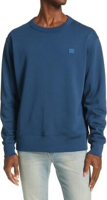 Acne Studios Fairview Face Crewneck Sweatshirt