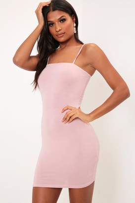 I SAW IT FIRST Rose Square Neck Cami Dress