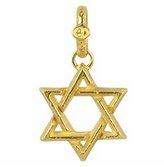 Torrini Stella di David - Large 18K Yellow Gold Pendant