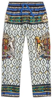 Dolce & Gabbana Kids Silk Trousers (8-12 Years)